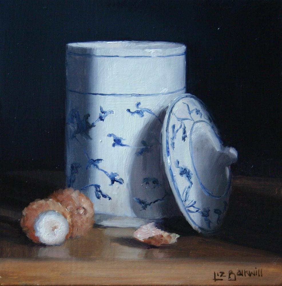 """Pot with Lychees"" original fine art by Liz Balkwill"
