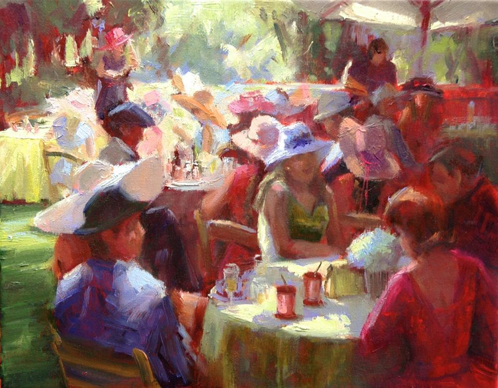 """Mint Juleps"" original fine art by Johanna Spinks"