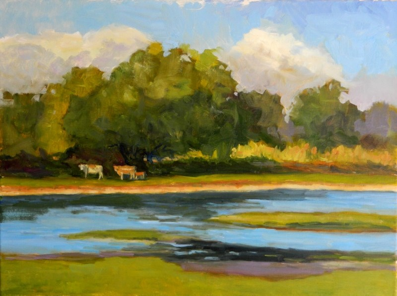 """Pastoral"" original fine art by Sharon Yarbrough"