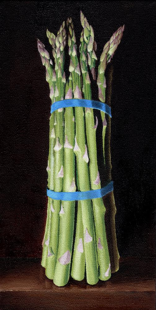 """Asparagus"" original fine art by Catherine Al-Rubaie"