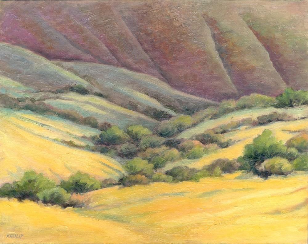 """""""Foothills Wash"""" original fine art by Kath Reilly"""