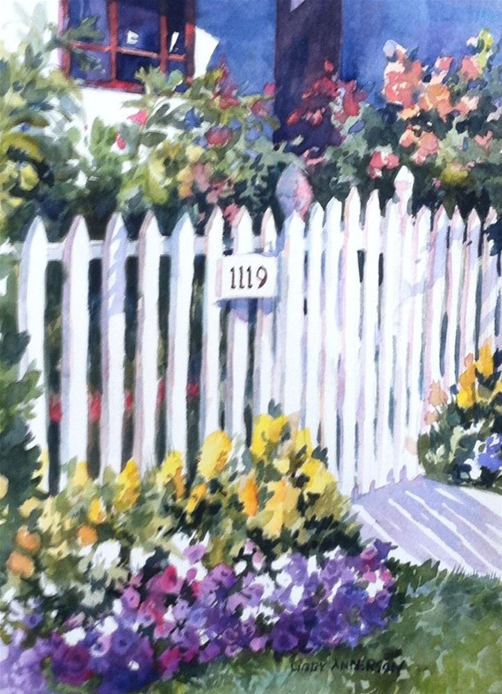 """Coronado Gate"" original fine art by Libby Anderson"