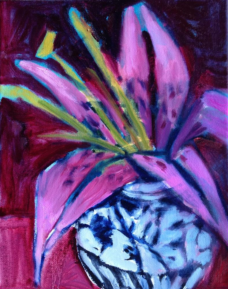 """Into the Pink"" original fine art by Pamela Hoffmeister"