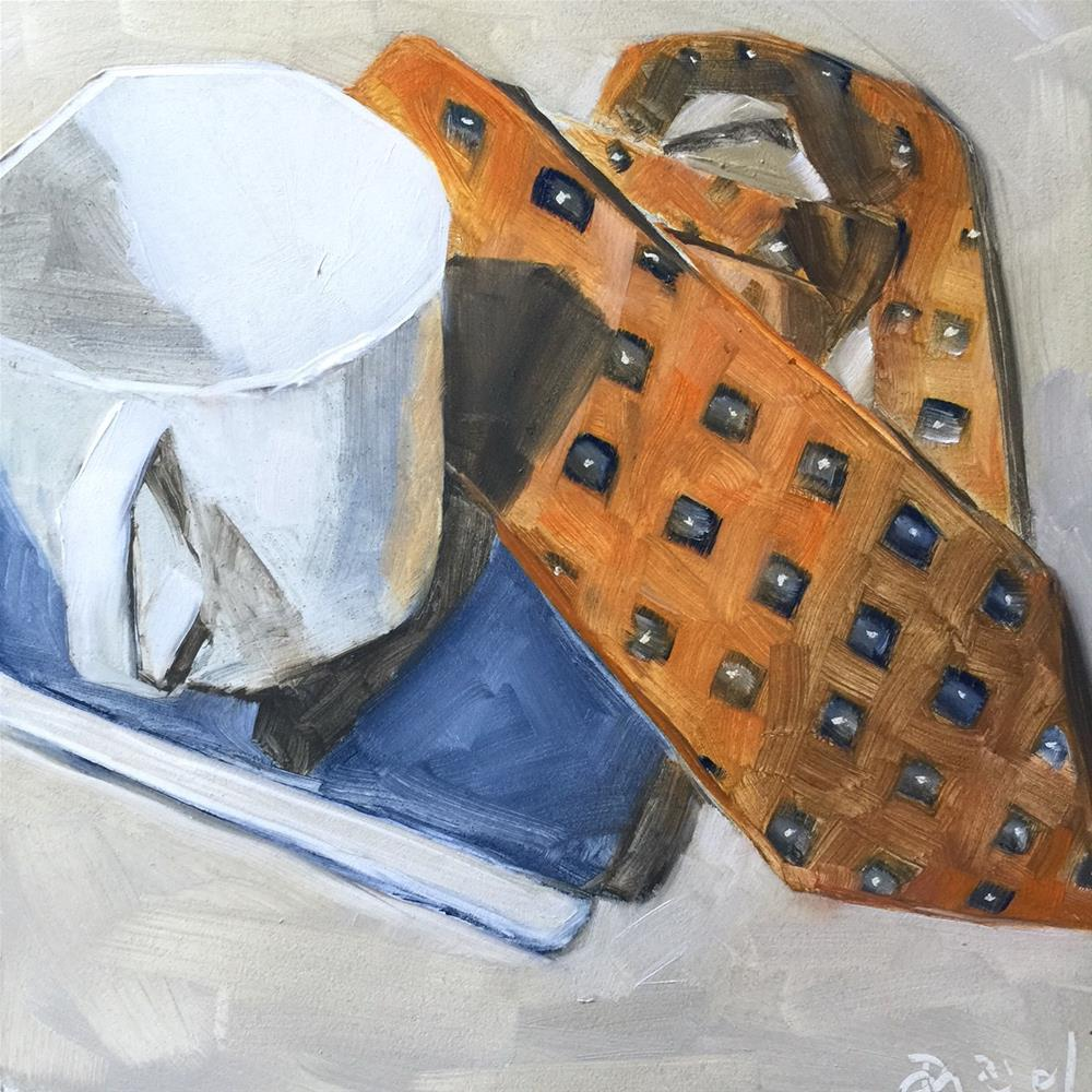 """232 Art of Conversation"" original fine art by Jenny Doh"