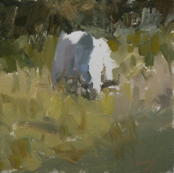 """Dry day at Kotchins"" original fine art by Randall Cogburn"