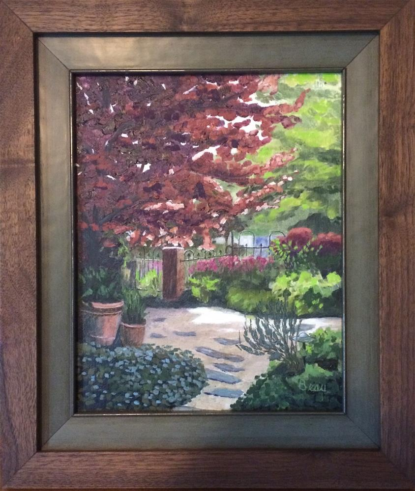 """Daphne's Garden (Study)"" original fine art by Beau Crump"