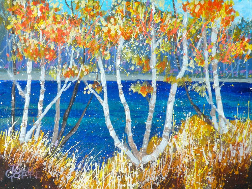 """Early Autumn"" original fine art by Toni Goffe"