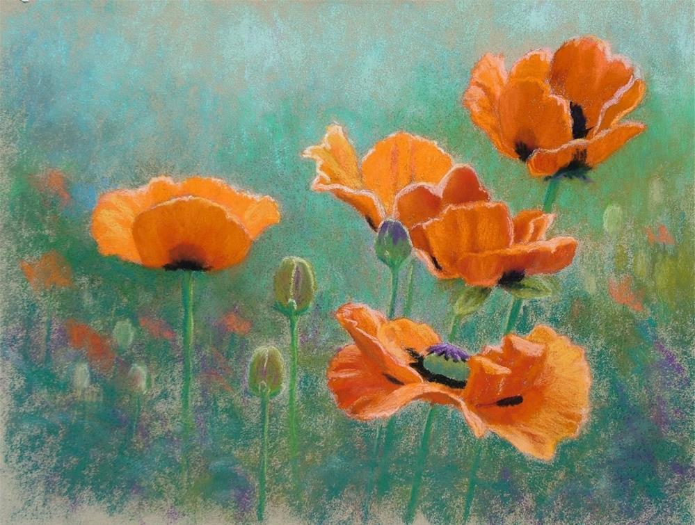 """Summer Suncatchers"" original fine art by Christine Derrick"