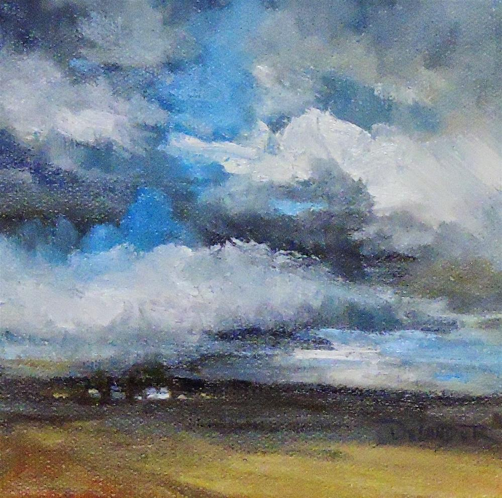 """After the Storm, Original Oil Painting"" original fine art by Diana Delander"