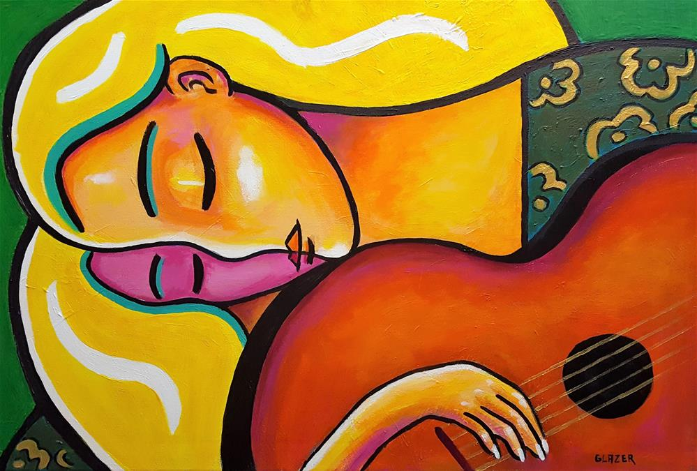 """Love Song"" original fine art by Stuart Glazer"