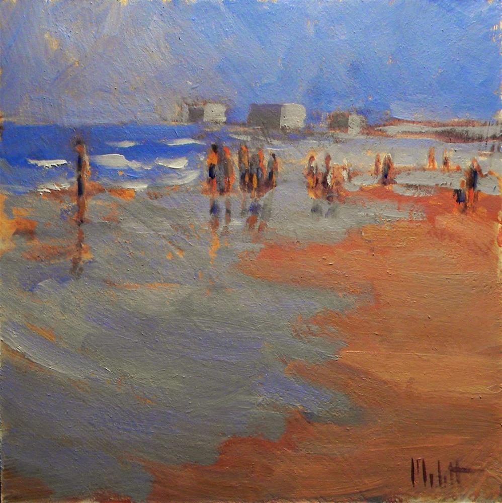 """The Beachcombers Impressionism Oceanscape Figurative Heidi Malott"" original fine art by Heidi Malott"