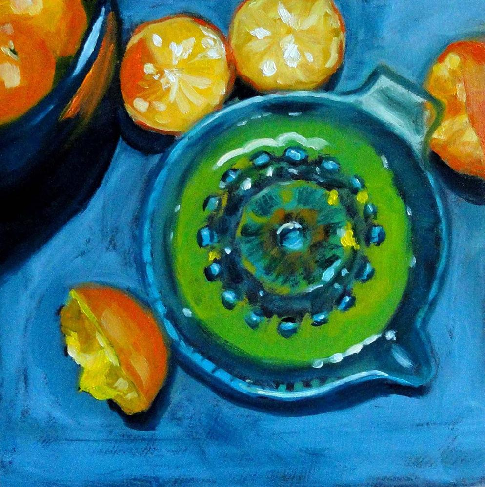 """Squeeze Those Cuties"" original fine art by Cietha Wilson"