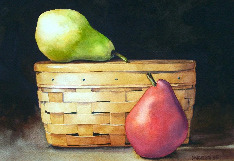 """ LONGABERGER LUNCH "" original fine art by Dwight Smith"