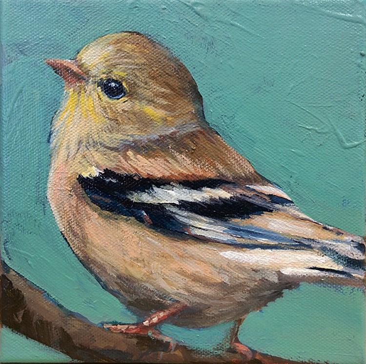 """Little One"" original fine art by Jennifer Harwood"