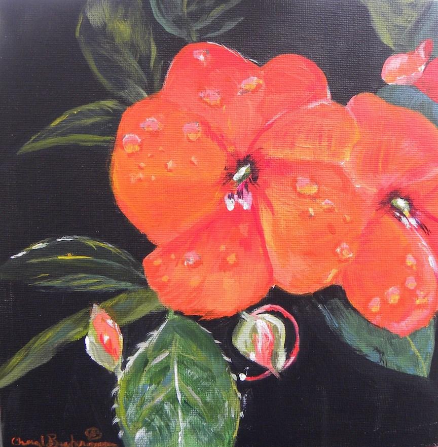 """After The Rain"" original fine art by cheryl buhrman"