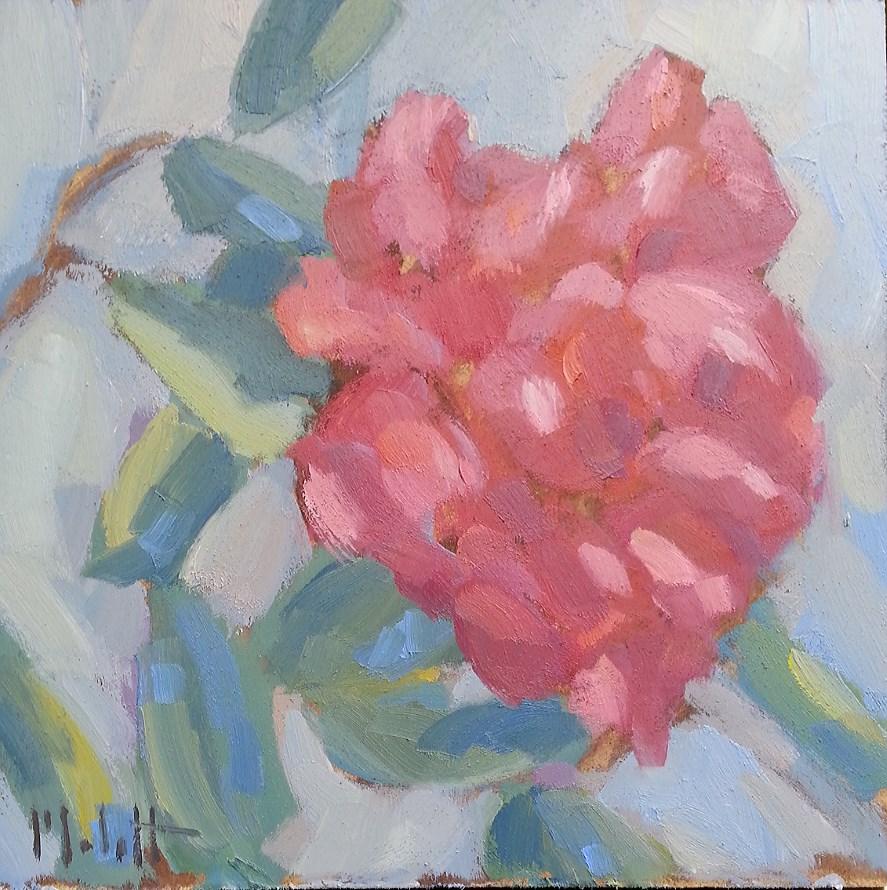 """Garden Peonies Impressionism Original Oil Painting Floral"" original fine art by Heidi Malott"
