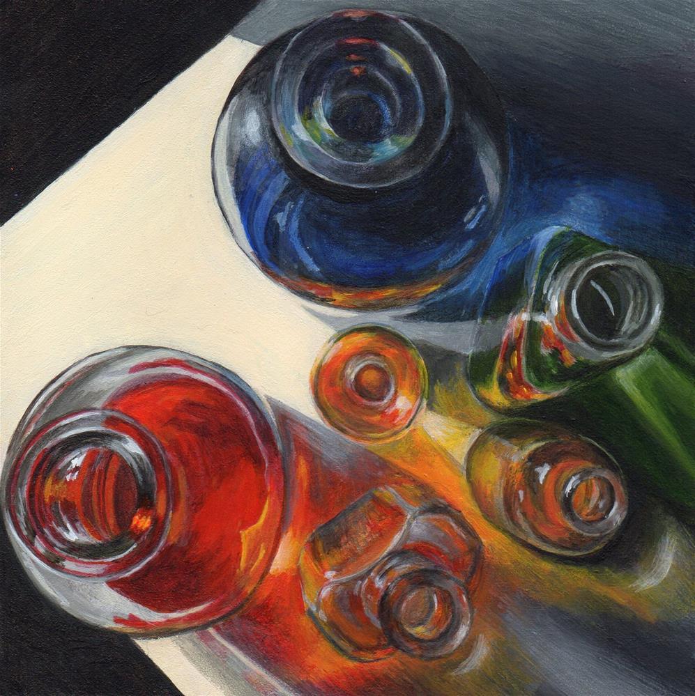 """Spectrum"" original fine art by Debbie Shirley"