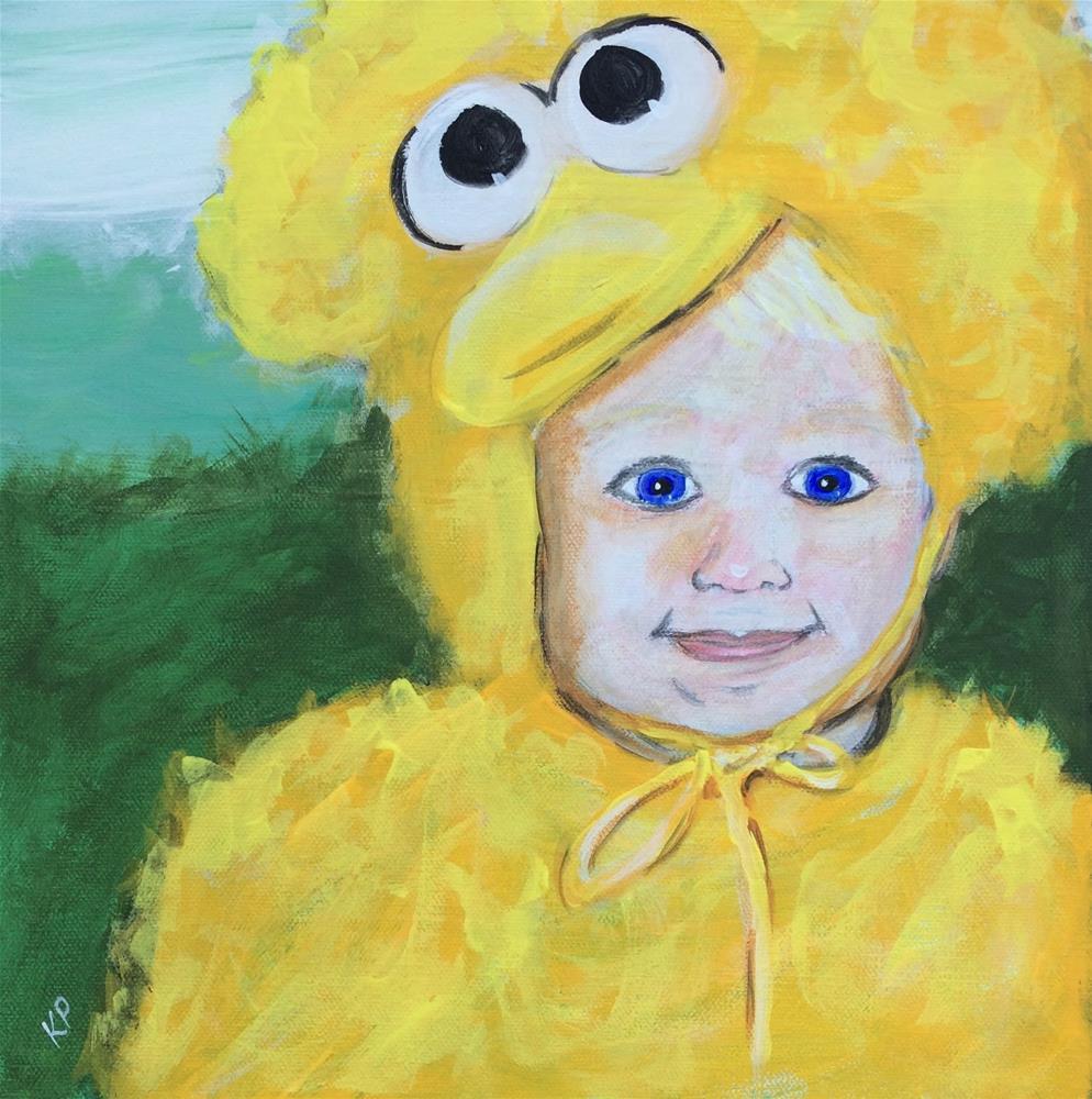 """My Little Bird"" original fine art by Kali Parsons"