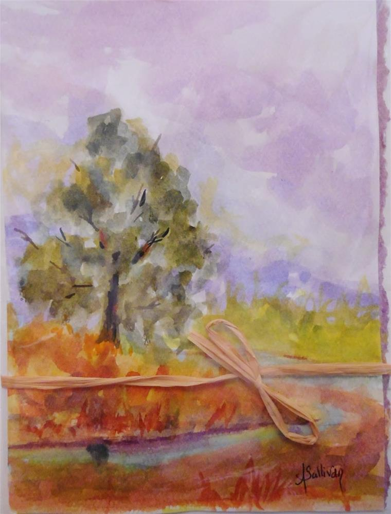 """Still Standing by Alabama Artist Angela Sullivan"" original fine art by Angela Sullivan"