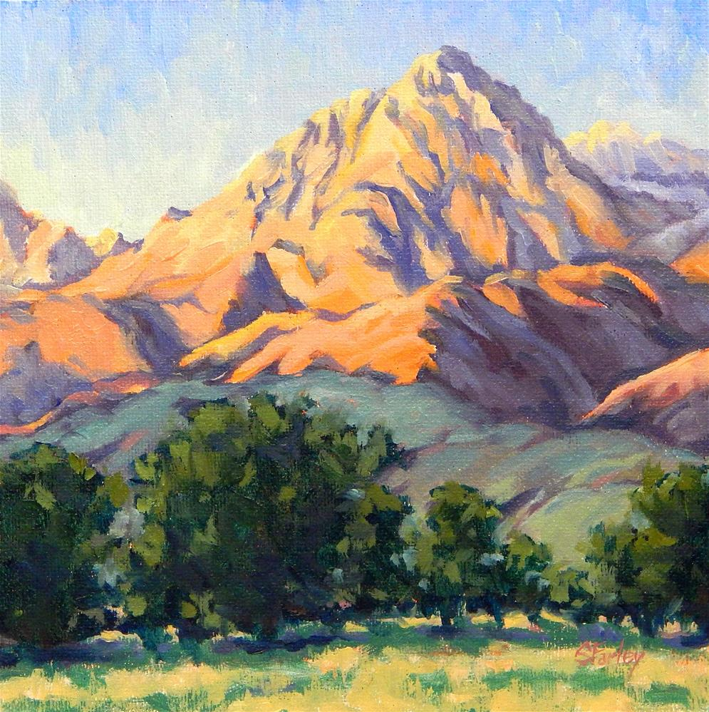 """Mountain Sonnet"" original fine art by Sandy Farley"