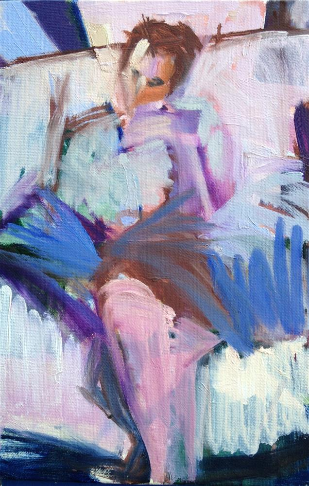 """Bridesmaid I"" original fine art by Pamela Hoffmeister"