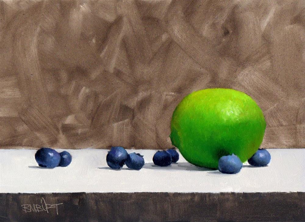 """#321 Scatter"" original fine art by Brian Burt"