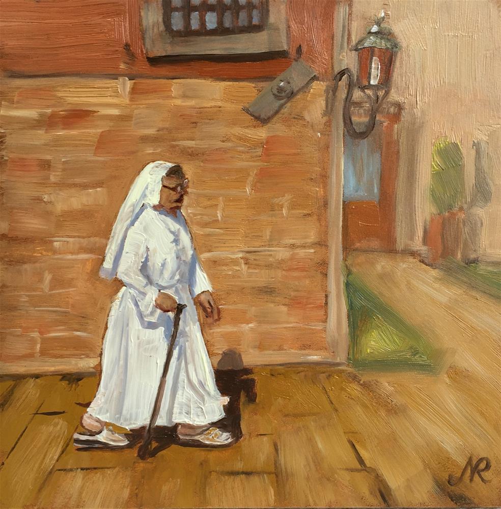"""On the Strets of Venice"" original fine art by Natasha Ramras"