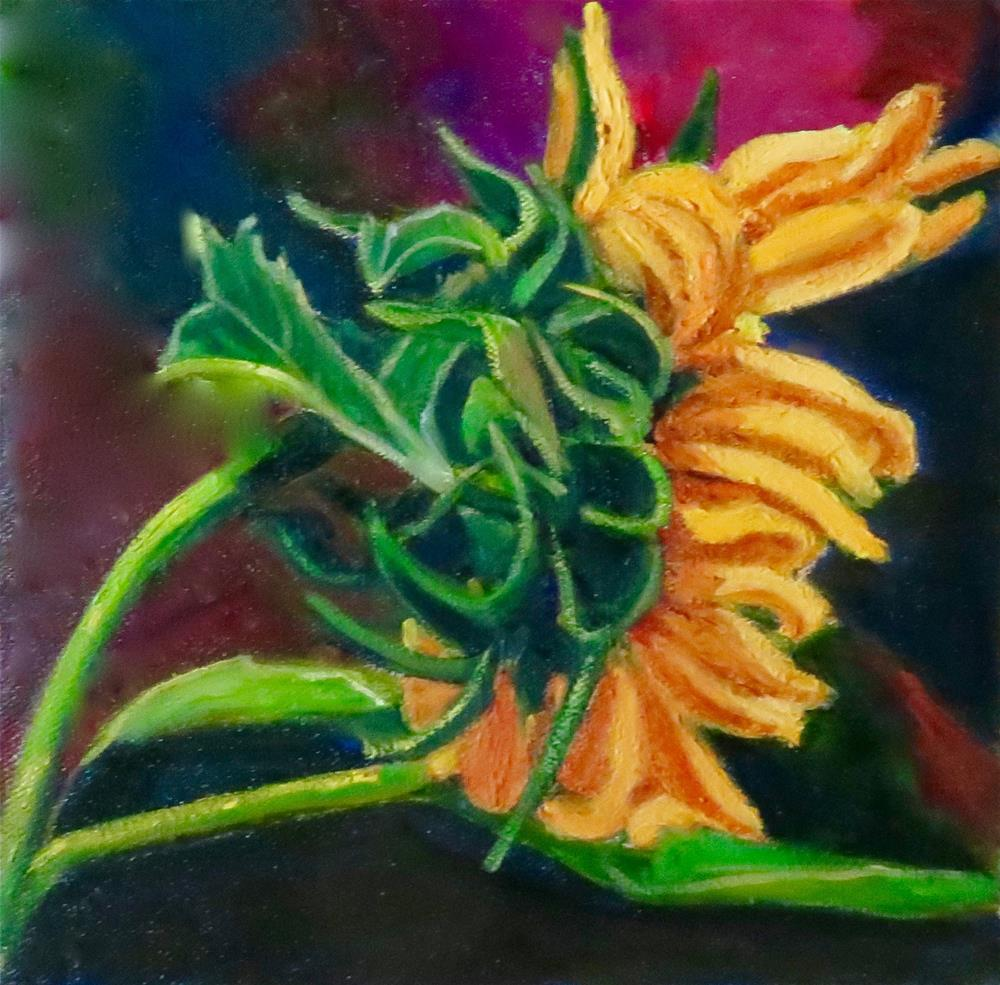 """YELLOW"" original fine art by Deborah Czernecky"