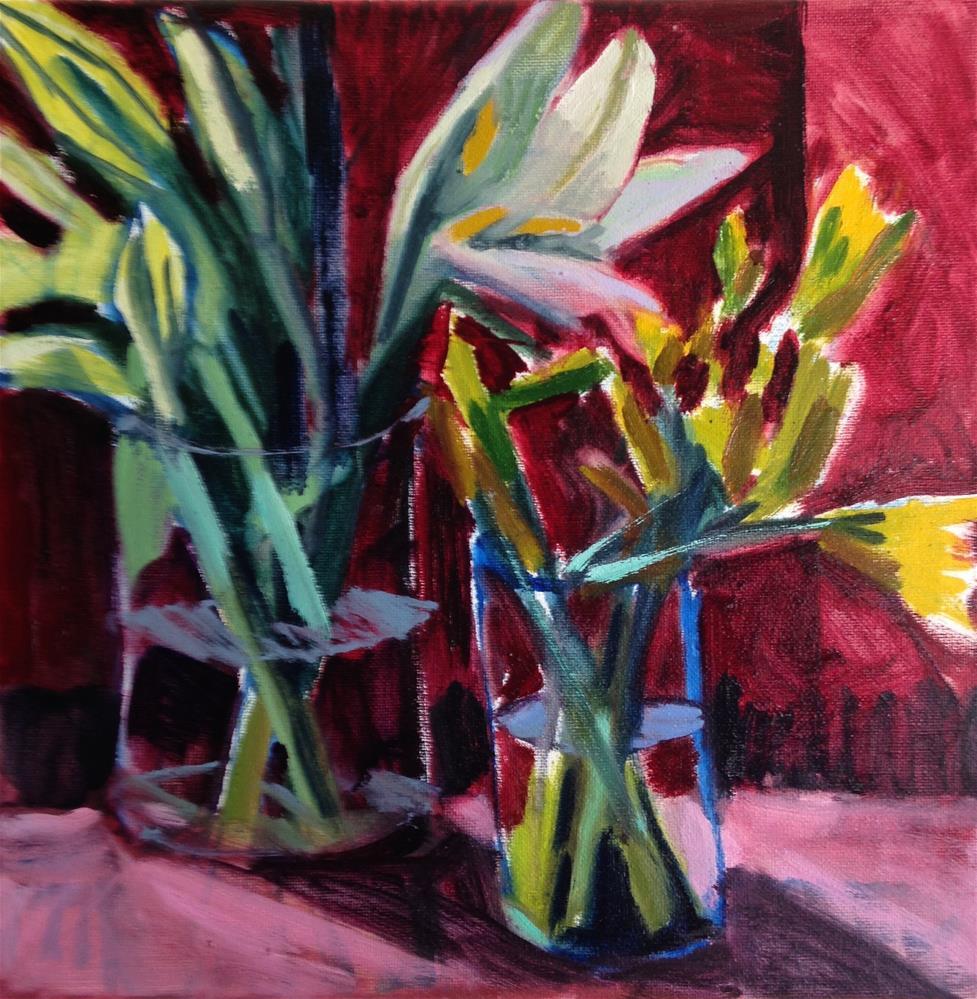 """Opening "" original fine art by Pamela Hoffmeister"