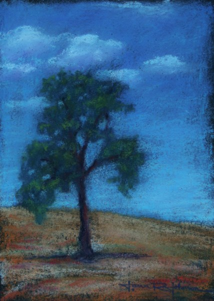 """Oak 1"" original fine art by Jana Johnson"