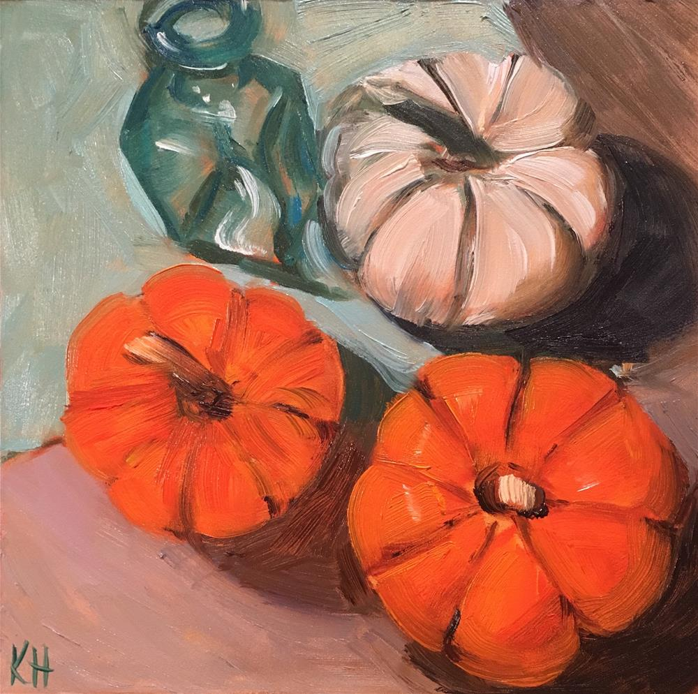 """Oh My Gourd"" original fine art by Katherine Hambley"