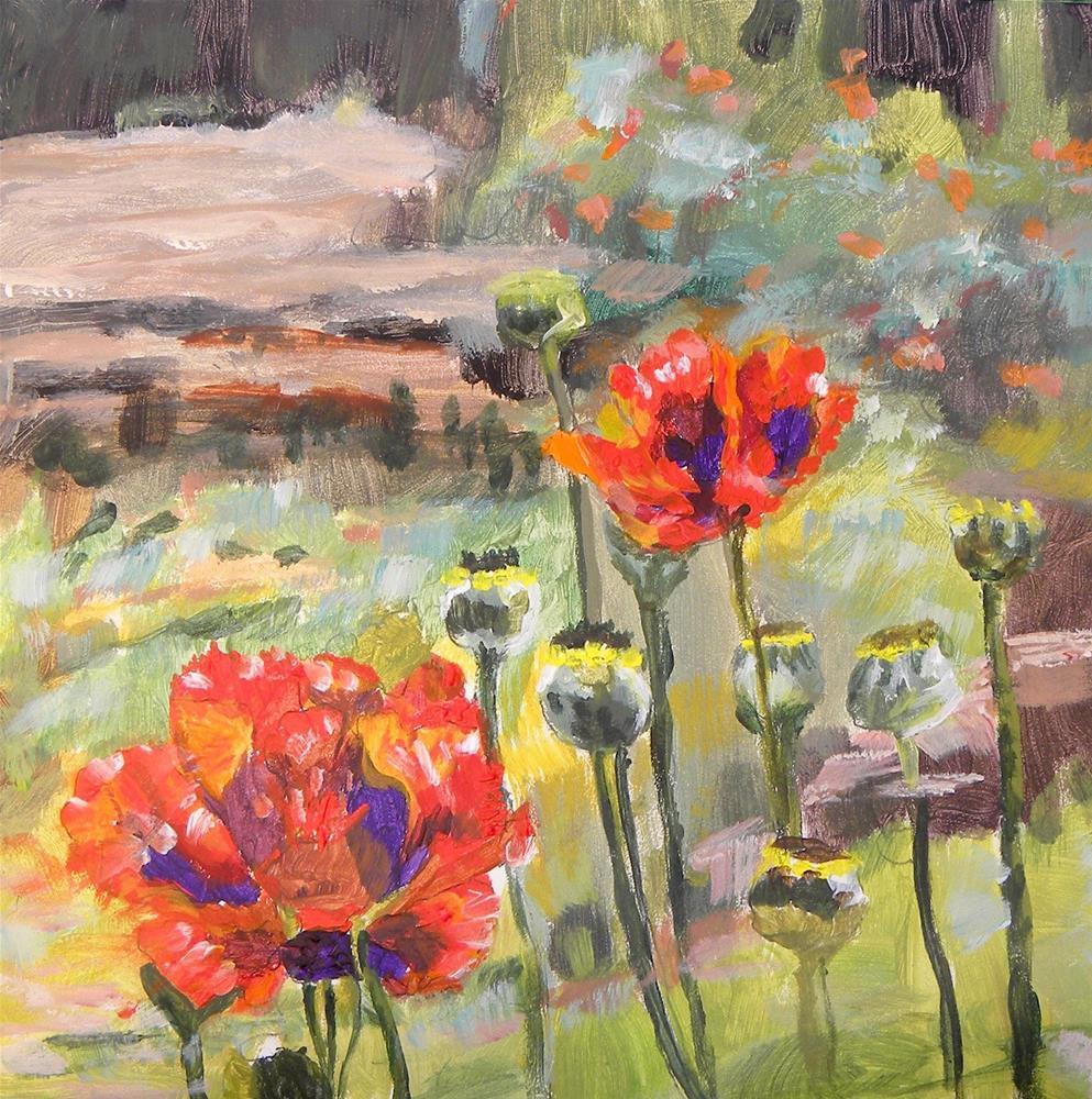 """Late Bloomer"" original fine art by cheryl buhrman"