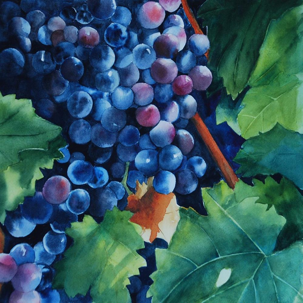 """Merlot 2017"" original fine art by Mary Anderson"