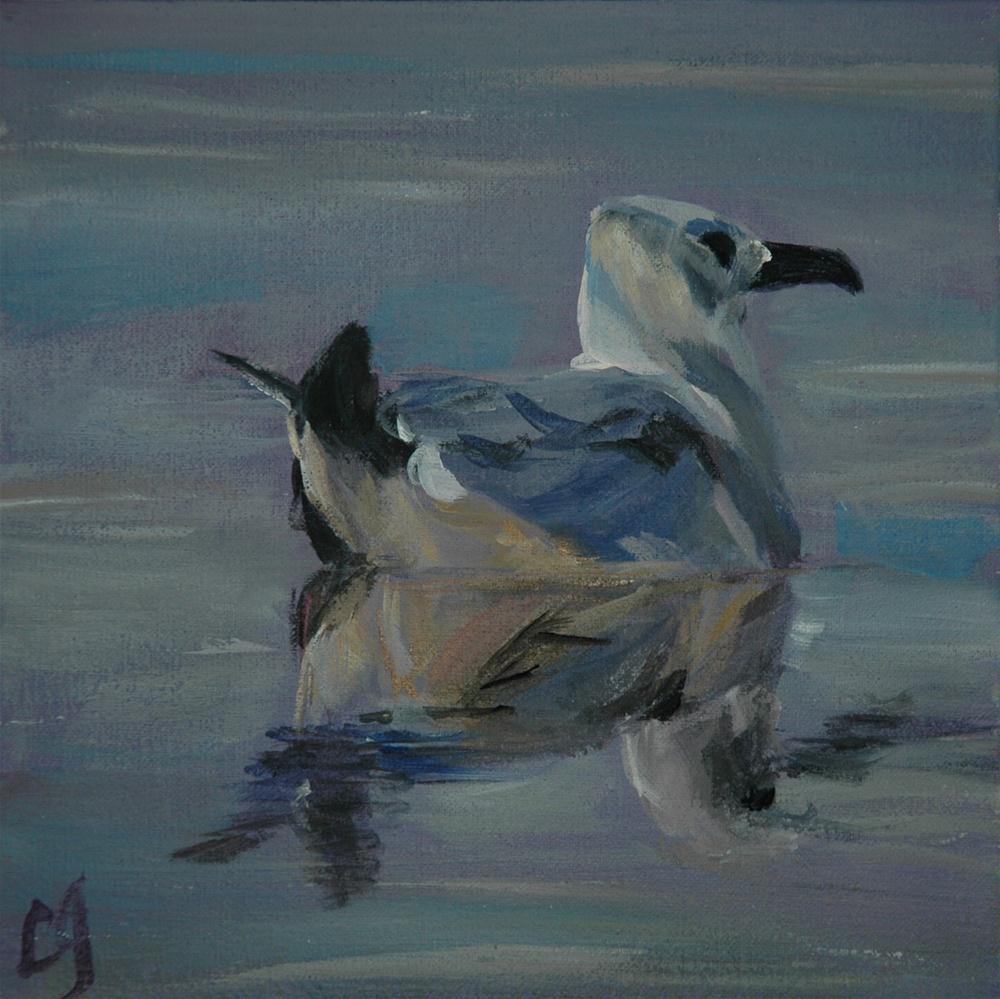 """Becalmed"" original fine art by Lyn Gill"