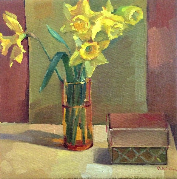 """The Gifts of Spring"" original fine art by Sarah Sedwick"