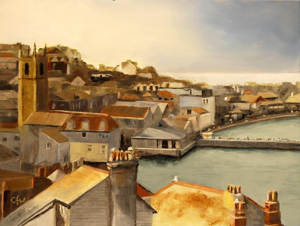 """St. Ives"" original fine art by Gary Westlake"