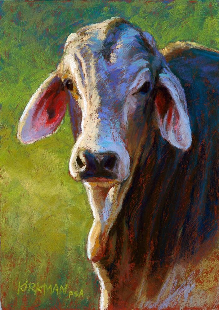 """Gracie"" original fine art by Rita Kirkman"