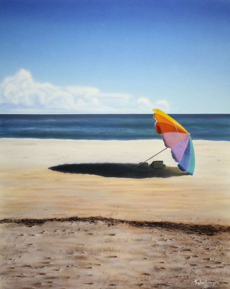 """Life's a Beach"" original fine art by Fred Schollmeyer"