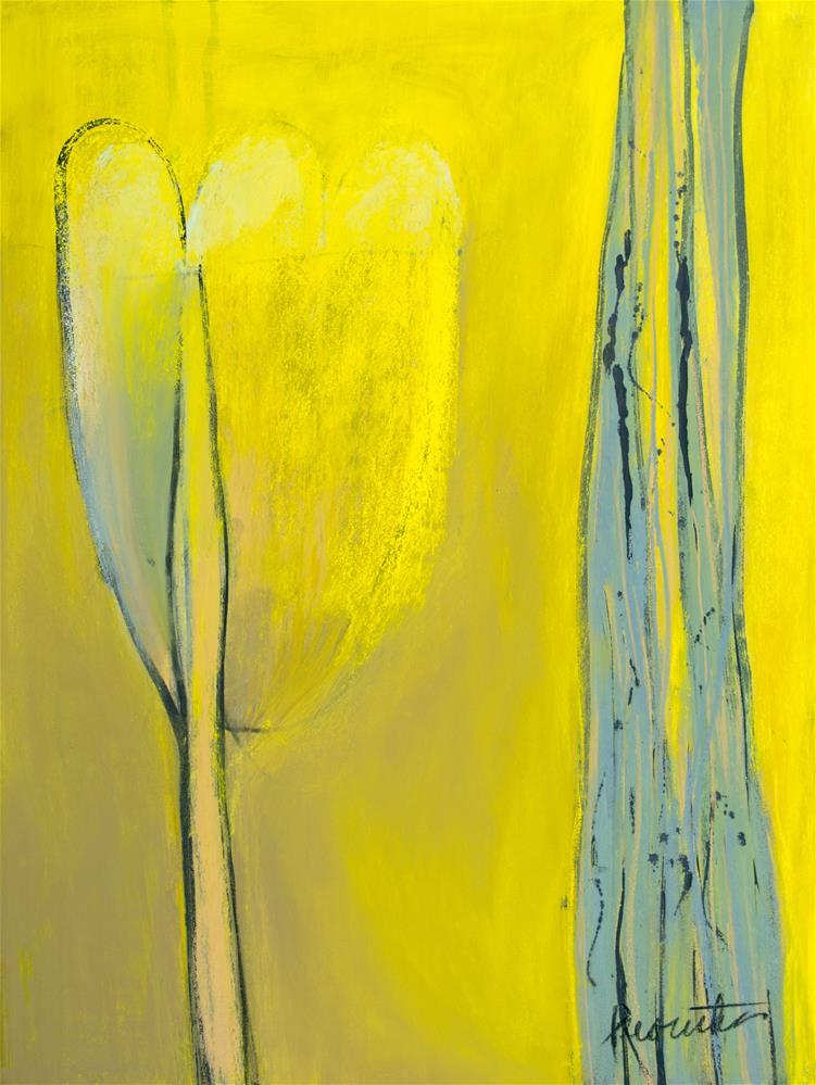 """Daffodil"" original fine art by Sarah Peroutka"
