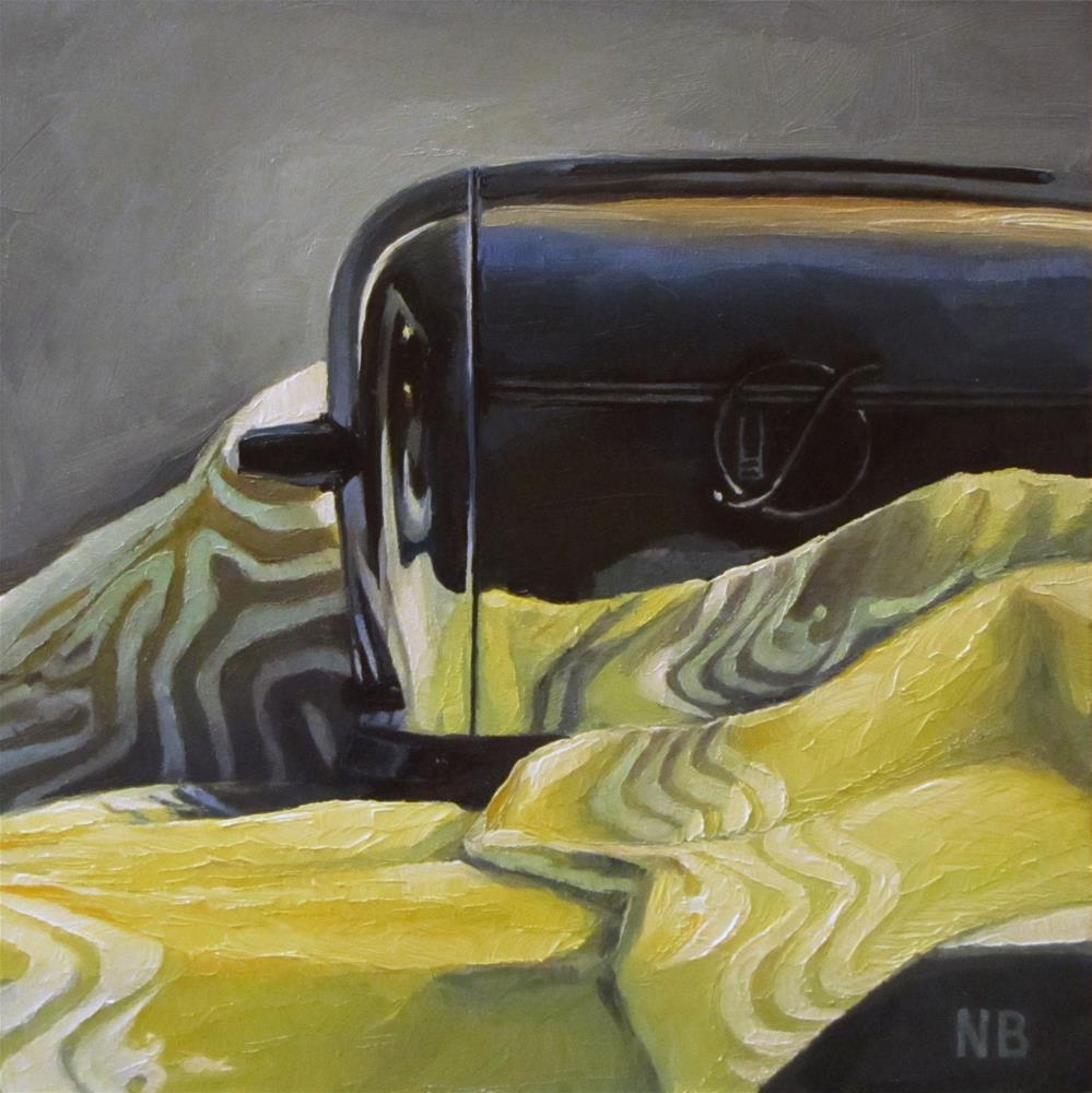 """Toasty"" original fine art by Nora Bergman"