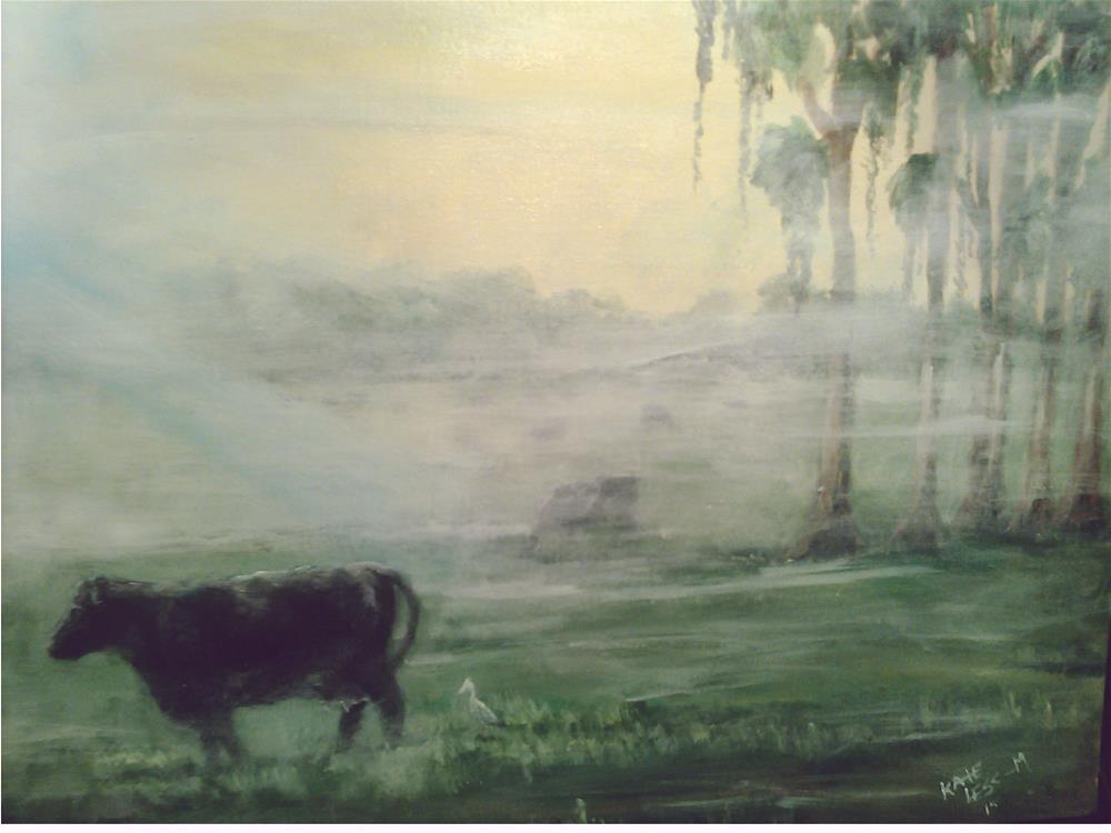 """Morning North Florida"" original fine art by Kate Less-Madsen"