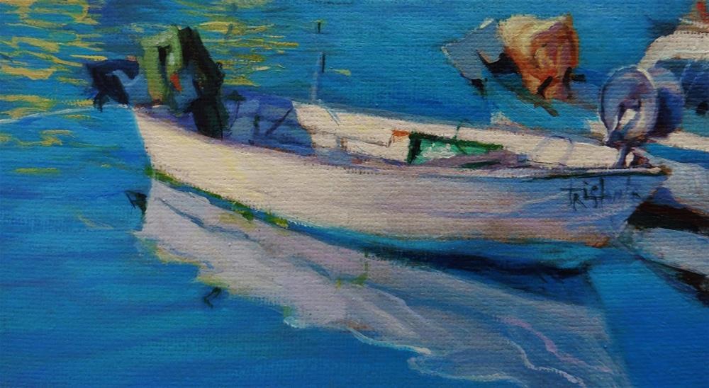 """""""Boat study"""" original fine art by Víctor Tristante"""