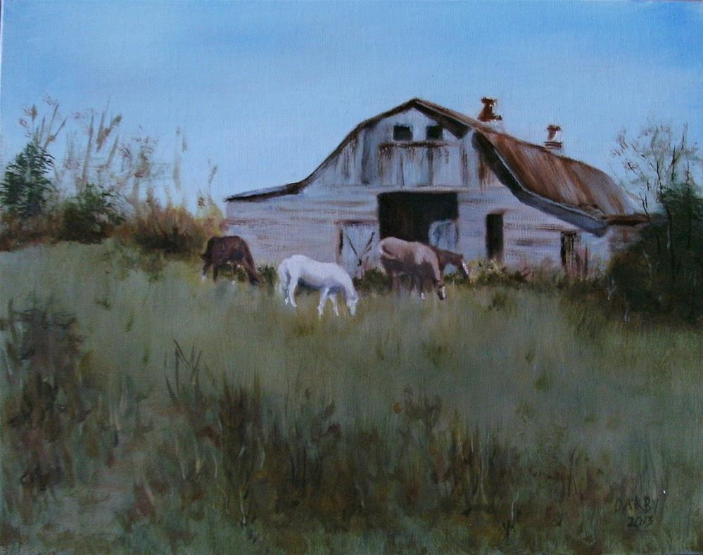 """Close to Home"" original fine art by Lynn Darby"