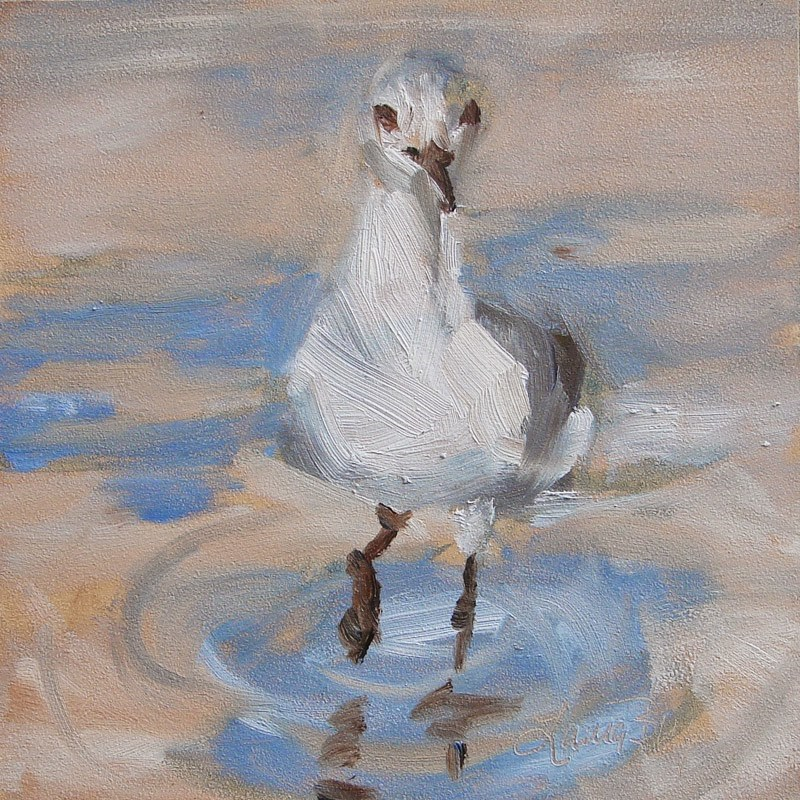 """Me Too! - 269"" original fine art by Laura  Buxo"