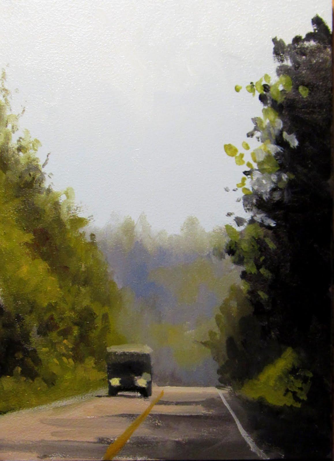 """ART 4 DIAPERS (DAILY DIAPER #156) Through The Pass"" original fine art by Brian Burt"