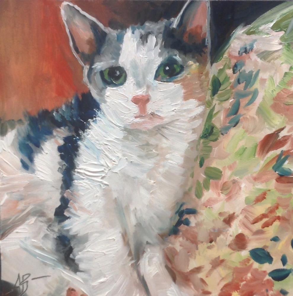 """Sweet Sarah"" original fine art by Annette Balesteri"