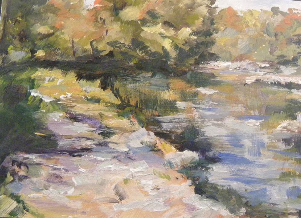 """Meander"" original fine art by cheryl buhrman"