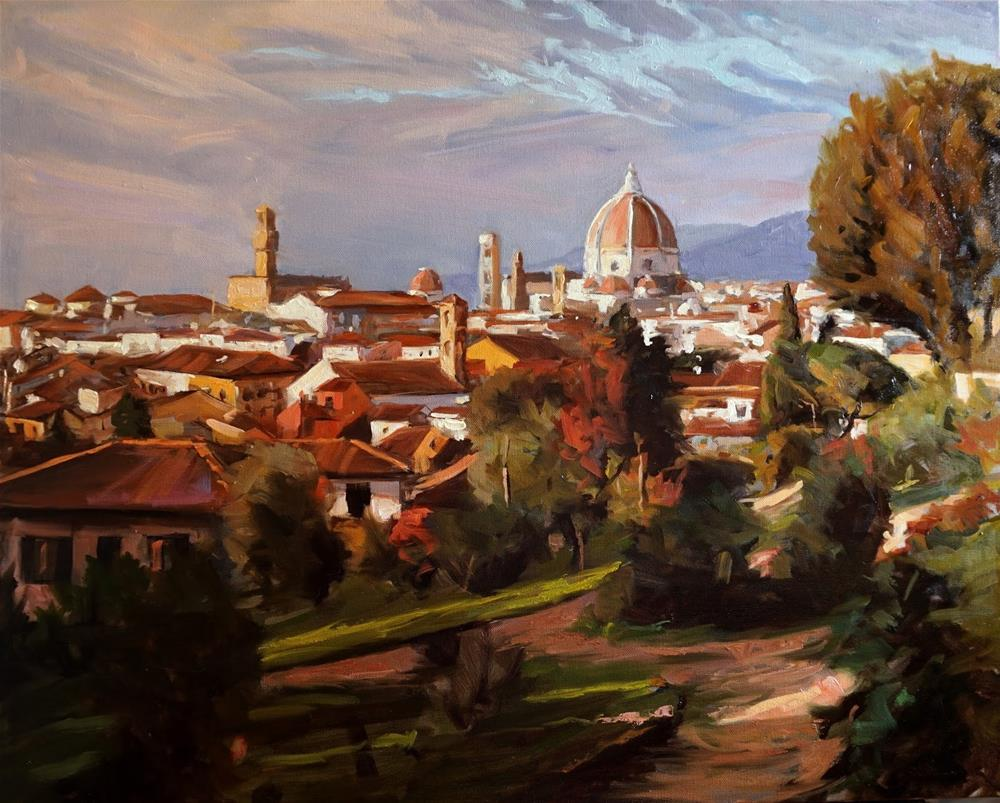 """Florence"" original fine art by Jonelle Summerfield"