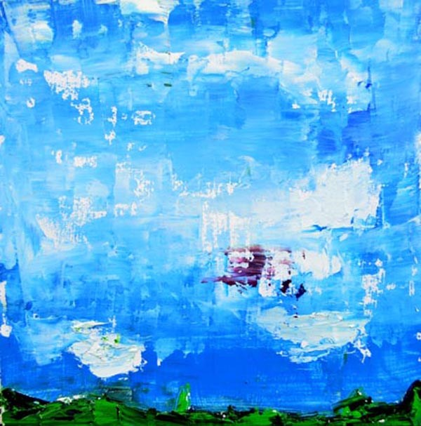 """Landscape No 65"" original fine art by Katie Jeanne Wood"