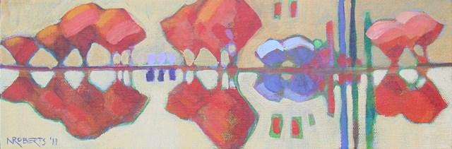"""Little Reflections"" original fine art by Nancy Roberts"